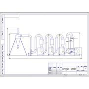 Сушильний агрегат СА-4 (4 котла) 1000-1500 кг/час фото