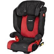 Детское кресло RECARO Monza Seatfix (материал верха Trendline Bellini Cherry/Black) фото