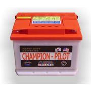 Стартерные аккумуляторные батареи для автомобилей Champion Pilot» фото