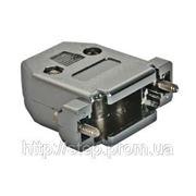 Корпус DN-15C для разъема D-Sub 15/26 контактов, металлизированный фото