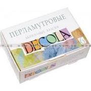 Набор акриловых красок, Decola, перламутровый, 6 * 20 мл