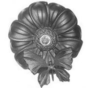 Цветок кованый 71.054 R140 фото