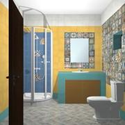 Дизайн-проект сантехнических помещений фото