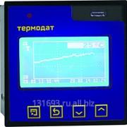 Измеритель температуры Термодат-16М6 - 1 универсальный вход, 3 реле, интерфейс RS485, архивная память, USB-разъем