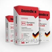 Шпаклевка цементная Бундекс слой фото