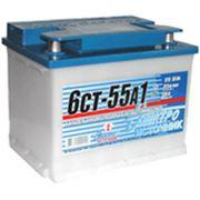 Аккумулятор автомобильный 6CТ-55А1 фото