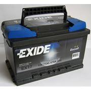 Аккумулятор 6СТ-71 (670 A EN) EXIDE EX17 фото