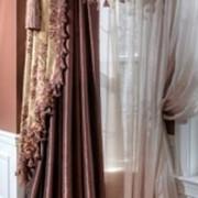 Текстильное декорирование, декор стен, потолков, арок под ключ фото