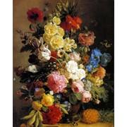 Фотообои на тему цветов фото