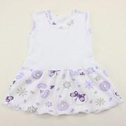Платье-сарафан 3852 л+и ластик+интерлок, размер 48-80 фото