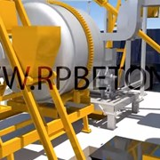 Асфальтовый завод АБЗ QLB60 фото