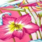 Ткань постельная Бязь 100 гр/м2 150 см Набивная Цветалия розовый/S815 TDT фото