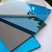 Поликарбонат листовой монолитный 4 мм фото