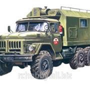 Модель ICM 1/72 Зил-131, подвижный командный пункт