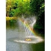Установка фонтанов фото