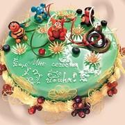 Торт детский Зверята фото
