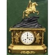 Часы каминные с Медным Всадником. Европа. 19 век. фото