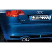 Задний диффузор Audi A3 фото