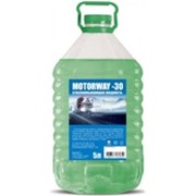 """Незамерзающая жидкость """"MotorWay"""" -30 5L Green фото"""