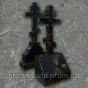 Кресты гранитные от производителя Житомир (Образцы №521) фото