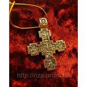 """Крест """"Распятие. Святой Никита"""". фото"""