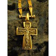 """Крест """"Распятие. Божия Матерь. Пять святителей """". фото"""