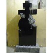 Гранитные кресты отпроизводителя Житомир (Образцы №517) фото