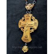 Крест наградной №1 (с цепочкой) фото