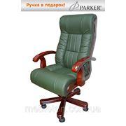 Кресло для руководителя Мурано (Зеленая кожа) фото