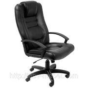 Кресло для руководителя Марсель НВ PL кожзам неаполь черный фото