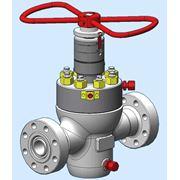 Задвижка шиберная прямоточная для использования в качестве запорной арматуры на нефтяных и газовых скважинах на давление РN 21; 35; 70; 105 МПа (3000 5000 10000 15000 psi) и условн проходами DN 50; 65; 80 100 мм (2.1/16'' 2.9/16'' 3.1/8'' 4.1/16'' фото