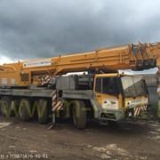 Аренда Автокрана Liebherr LTM-1100-5.1 100Т фото