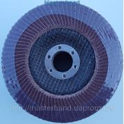 Круг лепестковый торцевой Sprut 125х22 мм P100 фото