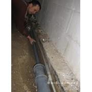 Сантехнические работы, водопровод фото