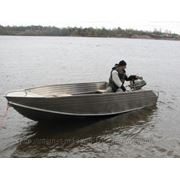 Алюминевая лодка Блик 40 фото
