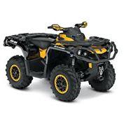 Квадроциклы Outlander Max XT-P 1000 Black/yellow фото