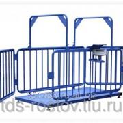 Весы для животных 1500 кг платформа 2000х1500 мм с ограждением фото