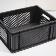 Ящик для дрожжей и грибов черный фото