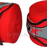 Бинты боксерские RDX Fibra Red 4.5m фото