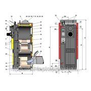 Комбинированные, пиролизные, дровяные, пеллетные, газовые, дизельные (жидкотопливные) котлы Atmos DC18SP(L) фото