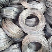 Проволока стальная нержавеющая-12Х18Н10Т кр.3,5 фото