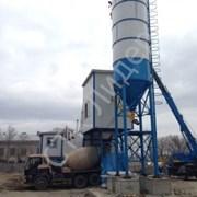 Зимний бетонный завод HZS 25 фото