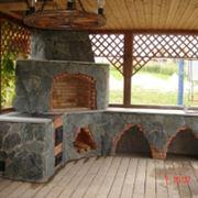 Камин для дачных домов дач из Чернигова доставка по Украине фото