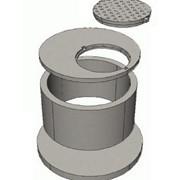 Крышки колодезные кольца (плита перекрытия) фото