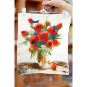 Творчество своими руками - валяние мокрое фото