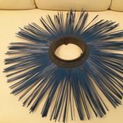 Щёточный диск для коммунальной техники фото