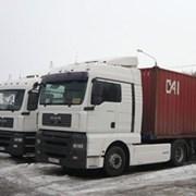 Аренда контейнеровоза. Грузоперевозки. фото