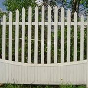 Забор пластиковый фото