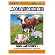 Комплексный антибактериальный препарат Анзациклин 10, 50, 100 мл. фото