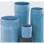 Трубы для скважин из ПВХ. фото